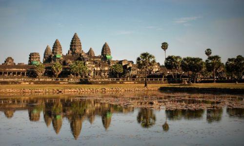 Zdjecie KAMBODżA / Siem Reap / Angkor Wat  / ***