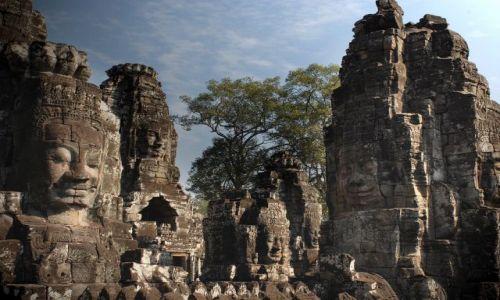 Zdjęcie KAMBODżA / Siem Reap / Angkor światynia Bayon / ***