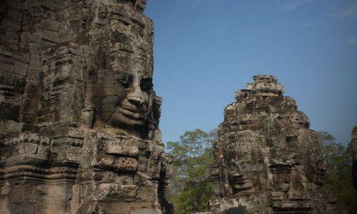 Zdjęcie KAMBODżA / Siem Reap / Bayon Wat / ~~~