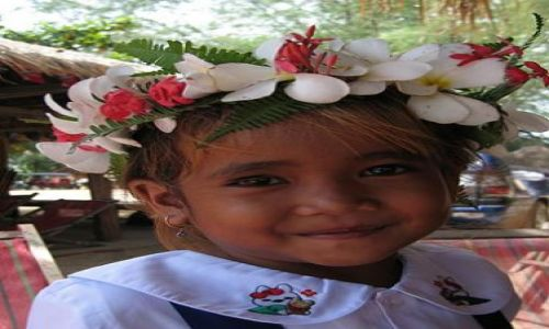 Zdjecie KAMBODżA / Sihanoukville / Sihanoukville / Wystrojona młod
