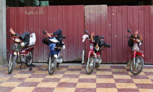 Zdjecie KAMBODżA / brak / Phnom Penh / siesta