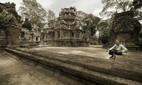 Zdjecie KAMBODżA / - / Angkor wat / Angkor