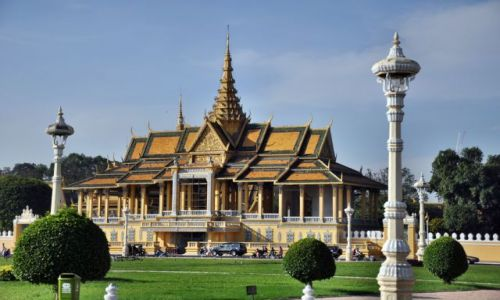KAMBODżA / - / Phnom Penh / Royal Palace