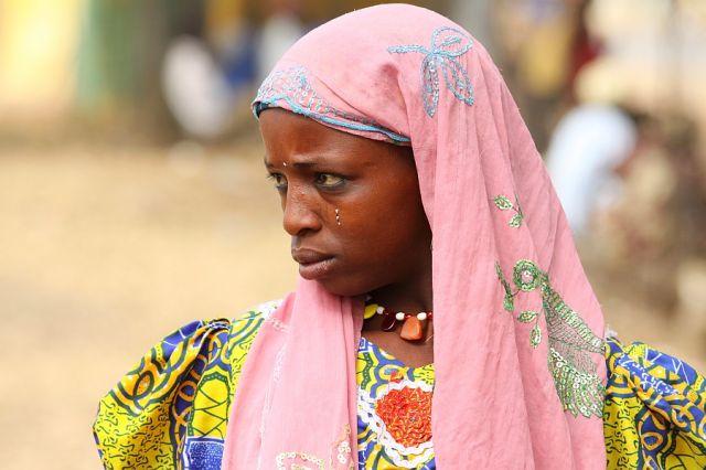 Zdjęcia: Benoue, Benoue, Nastolatka z Benoue, KAMERUN