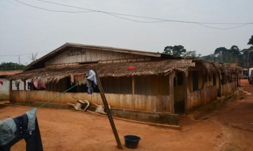 Zdjęcie KAMERUN / Prowincja Wschodnia / Socambo / Afrykański nocleg