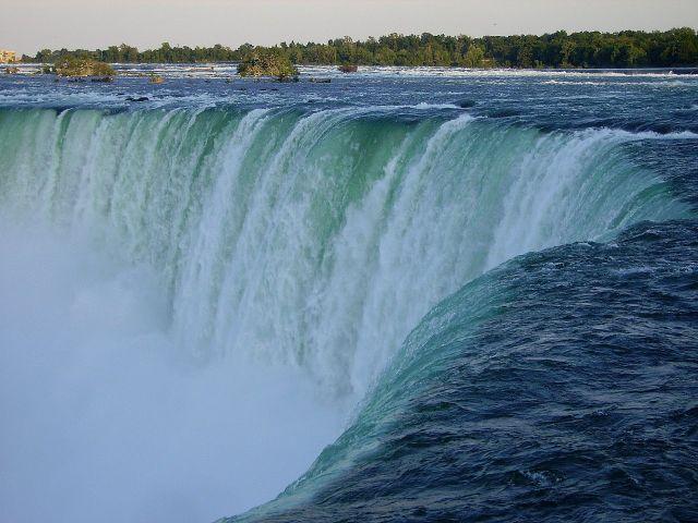Zdjęcia: Niagara Falls, Ontario, fascynujący widok choć bardzo znany, KANADA