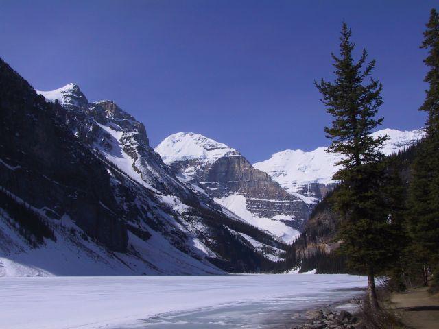 Zdjęcia: Okolice Calgary, Lake Louise, Góry Skaliste, KANADA