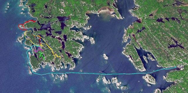 Zdjęcia: Wyspa Franklin Island, Ontario, Na wyspie Franklin Island w Ontario, KANADA