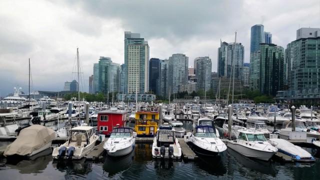 Zdjęcia: Vancouver, Kolumbia Brytyjska, Przystań, KANADA