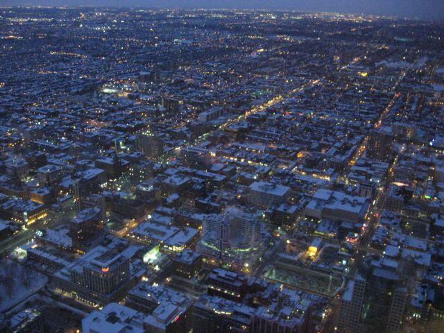 Zdj�cia: Toronto, Ontario, miasto(a) noc�, KANADA