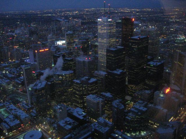 Zdjęcia: Toronto, Ontario, miasto(a) nocą 2, KANADA