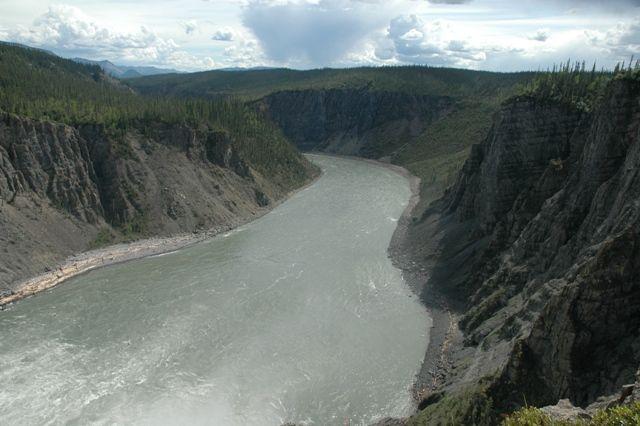 Zdjęcia: Nahanni river, NW territories, 4ty kanion, KANADA