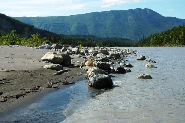 Zdjęcia: Nahanni, NW territories, Kamienie, KANADA