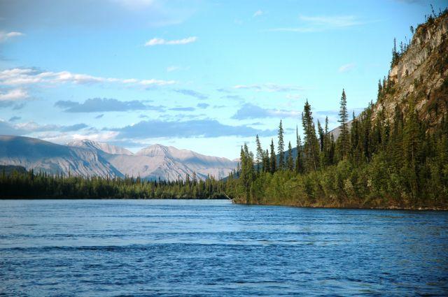 Zdjęcia: Nahanni, NW territories, Nahanni - moja rzeka:), KANADA