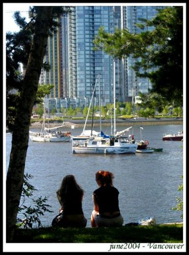 Zdjęcia: Vancouver, British Columbia, Spojrzenie na zatoke, KANADA