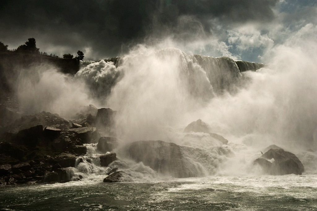 Zdjęcia: Niagara Falls, trochę wody, KANADA