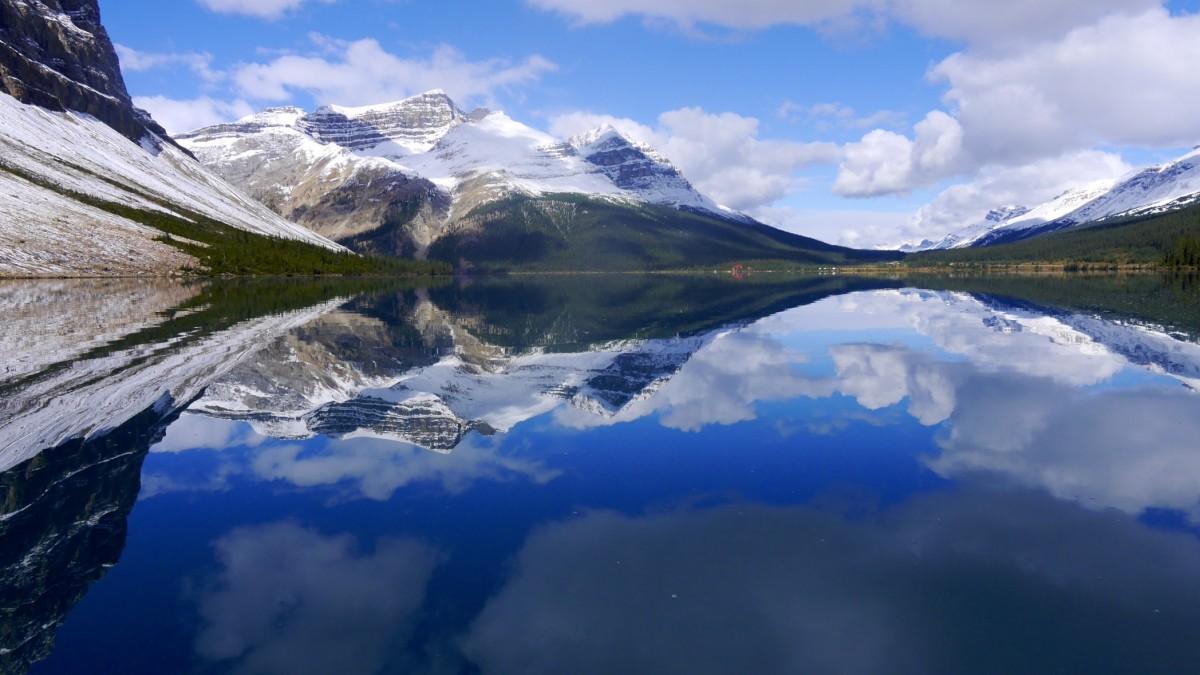Zdjęcia: Bow Lake, Alberta, Bow Lake, KANADA