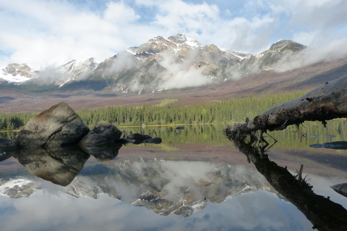 Zdjęcia: PN Jasper, Alberta, Pyramid, KANADA
