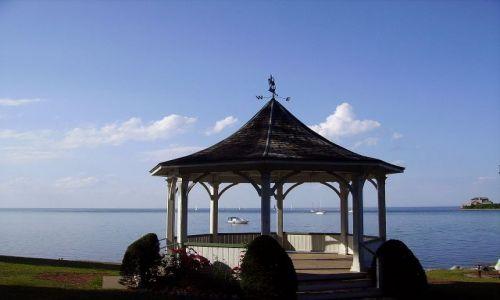 KANADA / Ontario / Niagara on the Lake / na brzegu jeziora w Niagara on the Lake