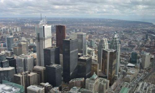 Zdjęcie KANADA / Ontario / Toronto / widok Toronto z wieży TV