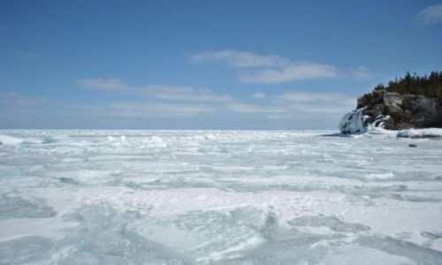 Zdjecie KANADA / Ontario / jezioro Huron, Bruce Peninsula Park / jezioro Huron