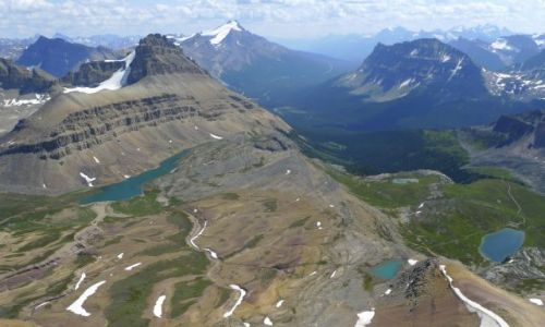Zdjecie KANADA / banff national park / cirque mt / gory skaliste