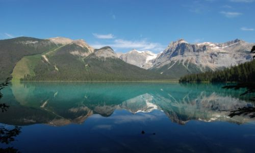 Zdjecie KANADA / Alberta / Banff / Emerald lake