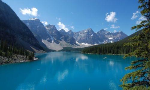 Zdjecie KANADA / Alberta / Banff / Moraine lake
