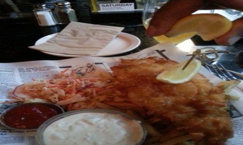 Zdjecie KANADA / Vancouver / Restauracja w Vancouver / Bez talerza - oszczędnie i ekologicznie?