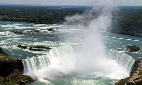 Zdjęcie KANADA / Ontario / Niagara Falls / ..sila