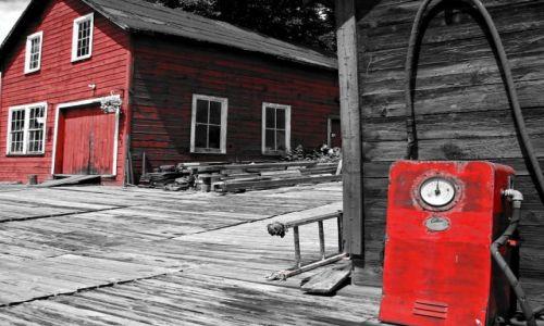 Zdjęcie KANADA / Ontario / Killarney / Stara przystań rybacka
