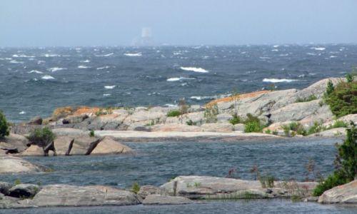 KANADA / Ontario / Wyspa Franklin Island / Zatoka Georgian Bay-widok z naszego biwaku