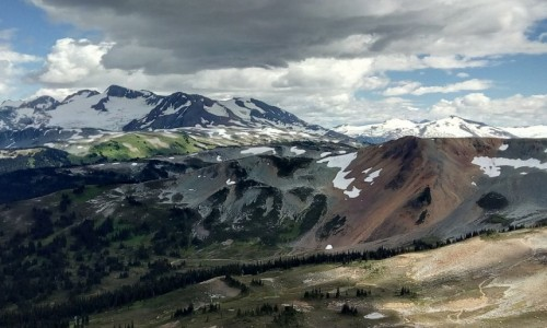 Zdjecie KANADA / Kolumbia Brytyjska / okolice Whistler / W górach kanadyjskich