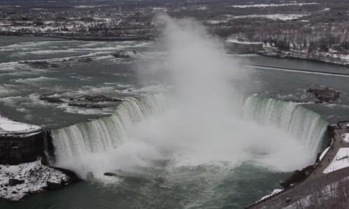 Zdjecie KANADA / Ontario / Niagara Falls / Horsehoe Falls