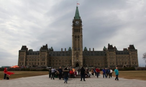 Zdjecie KANADA / Ontario / Ottawa / Kanadyjski Parlament