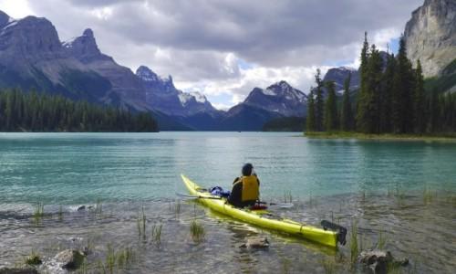 Zdjecie KANADA / Jasper NP / Maligne Lake / Maligne Lake