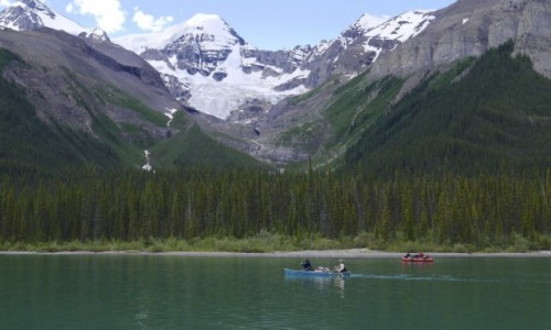 Zdjecie KANADA / Alberta, Jasper NP / Maligne Lake / Maligne Lake