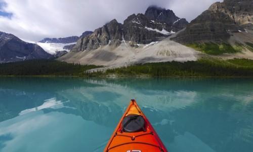 Zdjecie KANADA / Alberta / Bow Lake / Bow Lake