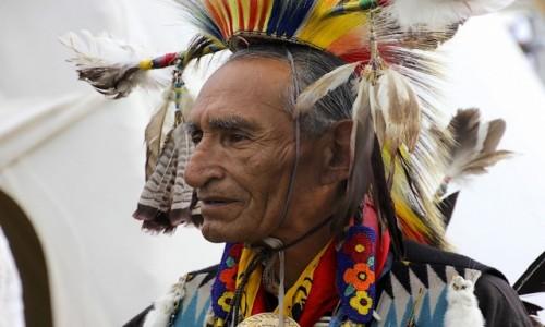 Zdjecie KANADA / Alberta / Calgary / Indianie