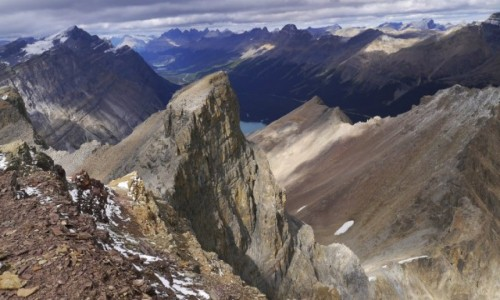 Zdjecie KANADA / Alberta / Banff NP / Widok z Mt. Jimmy Simpson