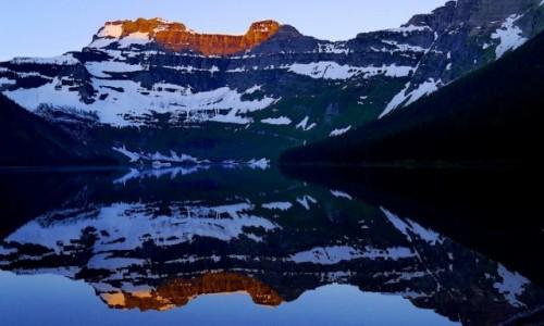 Zdjecie KANADA / Alberta / Waterton NP / Cameron Lake
