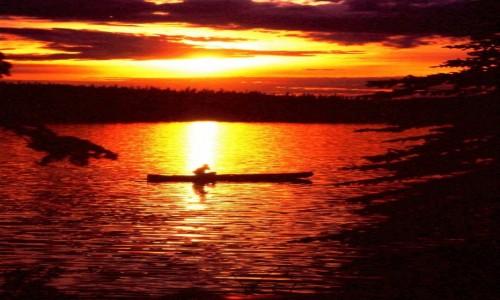 Zdjecie KANADA /  Dawson / Chapman Lake / Canoe