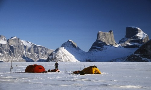 KANADA / Baffin Island / Sam Ford Fjord / Great Sail Peak