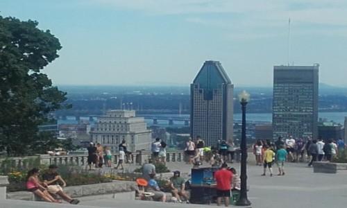 Zdjecie KANADA / Quebec / Montreal / Widok z wzgórza Mont Real