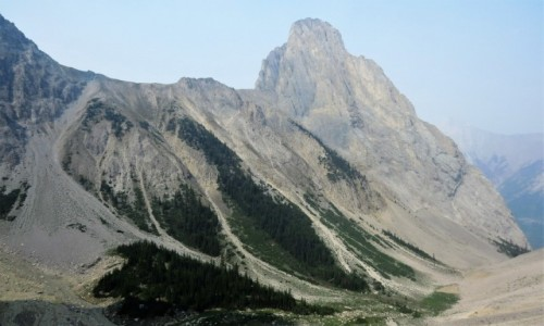 KANADA / Alberta / Banff NP / Góry Skaliste są naprawdę skaliste