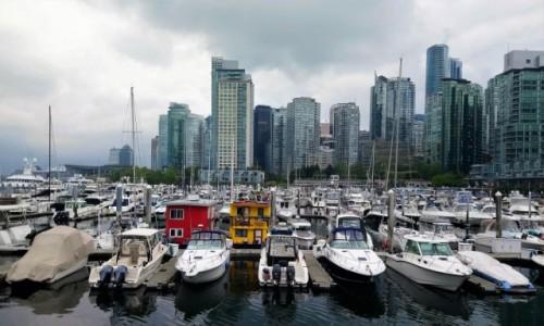 Zdjecie KANADA / Kolumbia Brytyjska / Vancouver / Przystań