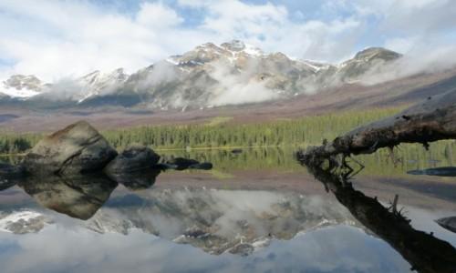 Zdjecie KANADA / Alberta / PN Jasper / Pyramid