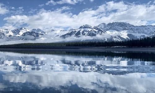 KANADA / Alberta / Kananaskis / Chlodne Gory :-)
