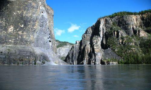 Zdjecie KANADA / NW territories / Nahanni / 3 ci kanion Nahanni