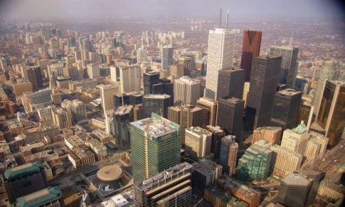 Zdjecie KANADA / Ontario / Toronto / Widok z CN Tower